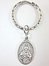 St Jude Medal Italy Key Ring Gift Box & Prayer Card