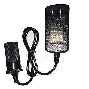Wall AC - DC 12V 2A Car Charger Cigarette Lighter Socket Adapter Power Converter