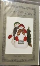 Little Coon Creek pattern I Melt With You Snowmen New in pkg