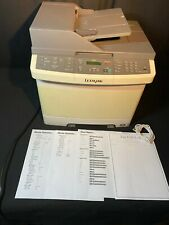 Lexmark X544 DN High Resolution Colour Laser Copier Printer Duplex - Serviced