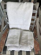 Pottery Barn Belgian Flax Linen King Sheet Set $300+ Natural Flax, 100% Linen