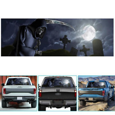 DIY Car Rear Window Decal Vinyl Sticker Horror Grim Reaper Sunshaded 147x46cm