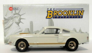 Brooklin 1/43 Scale BRK124X  - 1966 Ford Mustang  F Special 2009 - White