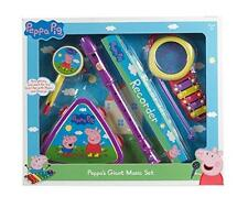 Peppa Pig Giant Music Toy Musicical Set Recorder Xylophone Triangle Drum