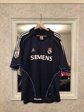 2005 Real Madrid Adidas Away Shirt Size L
