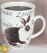 """Hoff Interieur Tasse 1104 Henkelbecher Hase """"Lovely Rabbit"""" - Weißer Kopf"""