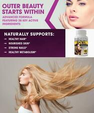 Piel de cabello más fuerte Uñas Pastillas más fuerte saludable juvenil Cutis Arruga ayuda