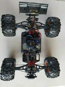 traxxas e revo brushless 1/8 scale off road remote control used car truck