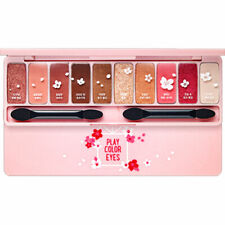Etude House Eye Shadow 10 Colors Play Color Eyes Palette Set Cherry Blossom