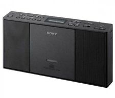 SONY ZS-E30 B Slim CD Player With FM AM Wide FM Radio Black Fast Ship Japan EMS