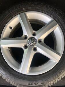 1xOriginal VW Golf Alufelge Aspen 6J x 16  ET48 5G0071496 5G0601025CE Kba 48591