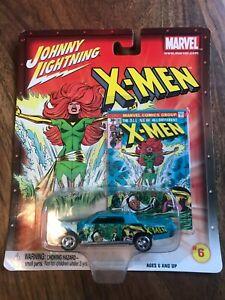 JOHNNY LIGHTNING MARVEL RELEASE 1 X-MEN  CAR # 6 OF 18