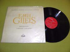 Beethoven - Emperor Concerto / Piano - Emil Gilels / RARE 1960 STEREO Blue Back