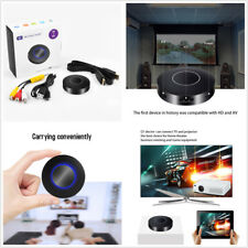 Car Wifi Dongle Home Media DLNA Airplay HDMI AV RCA Output Video For Android IOS