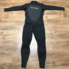 New O'Neill Men's Epic 4/3mm Back Zip Full Wetsuit Size XL Black