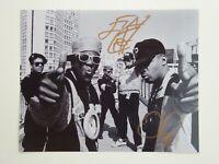 Public Enemy Chuck D Flavor Flav Signed Autographed 8x10 Photo Rap Legends