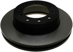 Disc Brake Rotor-Black Hat Front ACDelco 18A1799