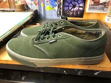 Vans Atwood Camo Duffel Bag Dusty Olive Green  US 11.5 Men VN000TUYU0I New