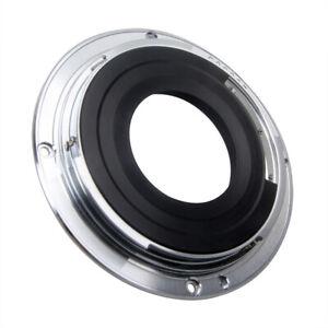EF-S To EF EOS Mount Adapter For Canon 10-22mm f/3.5-4.5 AF USM Lens Full Frame