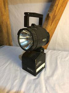 CEAG SEB 8L Handscheinwerfer EX Lampe Feuerwehr THW grau und schwarz