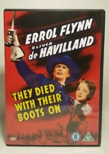 They Died With Their Boots On (DVD 1941) Errol Flynn, Olivia de Havilland UK DVD