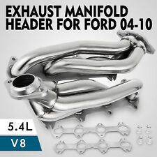 For Ford F150 2004-2010 5.4L V8 Exhaust Manifolds Headers Shorty Truck Car
