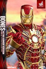 "Hot Toys - Iron Man 3 - Mark XLI Bones 12"" 1:6 Scale Action Figure Exclusive"