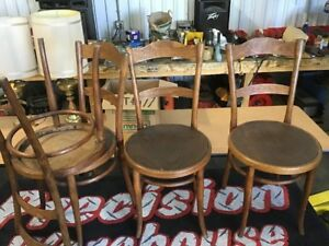 4-Original Antique Thonet Chair Wien /Vienna, Austria