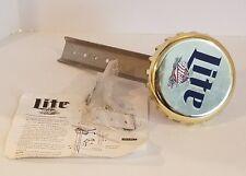 Miller Lite Bar Pub Bottle Cap Bottle Opener Sign Display Napstir