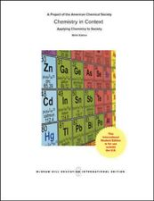 CHEMISTRY IN CONTEXT , 9R BY AMERICAN CHEMICAL SOCIETY (GLOBAL EDITION)