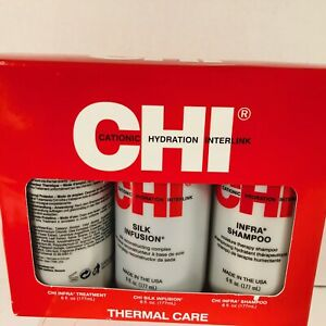 CHI Thermal Care Cationic Hydration Interlink Care Kit 6oz