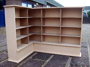 Left Corner Bookcase (12th Scale)
