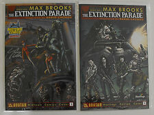 EXTINCTION PARADE #1-EXCLUSIVE HASTINGS & MIDTOWN VARIANT (SIGNED BY MAX BROOKS)