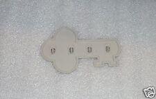 New Tupperware Gadgets Key Rack Hanger Holder Hook Country Pastel Dove Gray