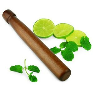 "8"" Wood Drink Muddler Mojito Bar Supplies Cocktail Infusion Mixologist"