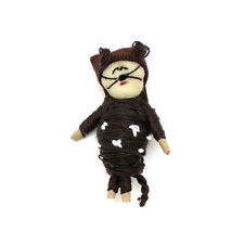 *SPECIAL* One (1) piece Guatemalan Brown Cat Wish Doll / Worry Doll