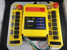 2 Transmitters 8 Channels Hoist Crane Radio Remote Control System 12V