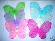 12 RHINE STONE  BUTTEFLY FAIRY WINGS~*TINKERBELL ANGEL