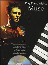 Suonare il piano con Muse Spartiti Musicali LIBRO con Play-Lungo tracce di supporto CD
