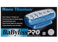 BABYLISS PRO NANO TITANIUM 12 JUMBO PLUS ROLLER HAIRSETTER BABNTCHV15
