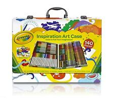 Large Art Set Kids Drawing Coloring Crayons Markers 140 Pc Gift Artist New