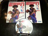ESPN NBA 2K5 (Sony PlayStation 2, 2004) *BUY 2 GET 1 FREE +FREE SHIPPING*