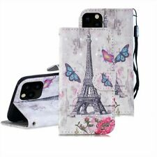 Fr iPhone 12 11 Pro Max XR 6 7 8 Plus Leather Wallet Case Card Slot Holder Cover