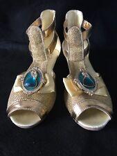 Disney Store Brave Princess Merida Shoes Sandals Girls Size 2/3 Rare Item New