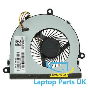 CPU Cooling Fan for Hp 15-ba083sa 15-ba144na 15-ay110na 15-ba043na Spare Part