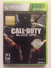 Call of Duty: Black Ops (Xbox One & Xbox 360, 2010)Sealed Fast Free Ship & Track