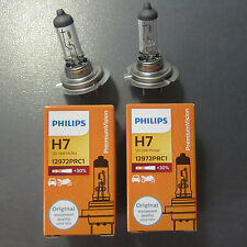 30% Off Sale 2X Philips H7 12972 12V 55W PX26d Premium Vision Headlight lamp