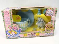 Tea Bunnies Party Playset NEW Sealed Vintage 90s Iris Bouquet Flower Shop Set