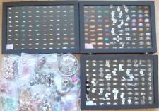 WHOLESALE CARBOOT MARKET JOBLOT 1000s of items of costume jewellery display case