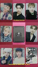 LOT of 8 MONSTA X GROUP Official Photocard LOST Ver The Clan 2.5 3rd Mini Album